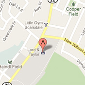 750 White Plains Road, Scarsdale NY map