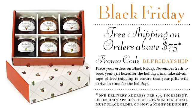 Black Friday, free shipping over $75!