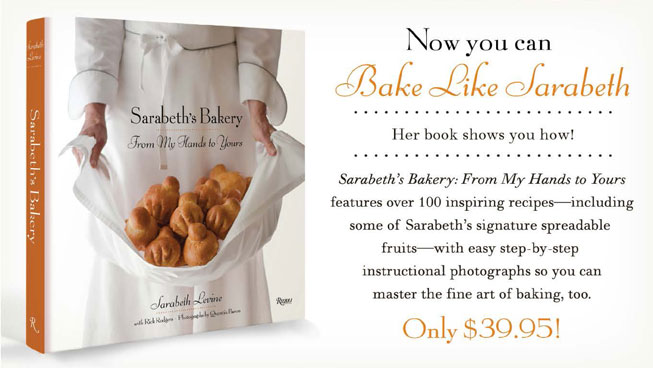 Sarabeth Book - From My Hands To Yours