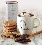 Cold Weather Combo: <p> Sarabeth's Mug  <p> 12oz Hot Chocolate Parisienne <p> 12 Chocolate Chip Cookies