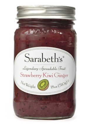 Strawberry Kiwi Ginger Preserves