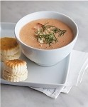 <i>Requires Special Shipping see below:</i> <p>Legendary Velvety Cream of Tomato Soup with Six Biscuits