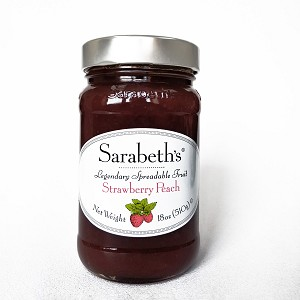 Strawberry Peach Preserves
